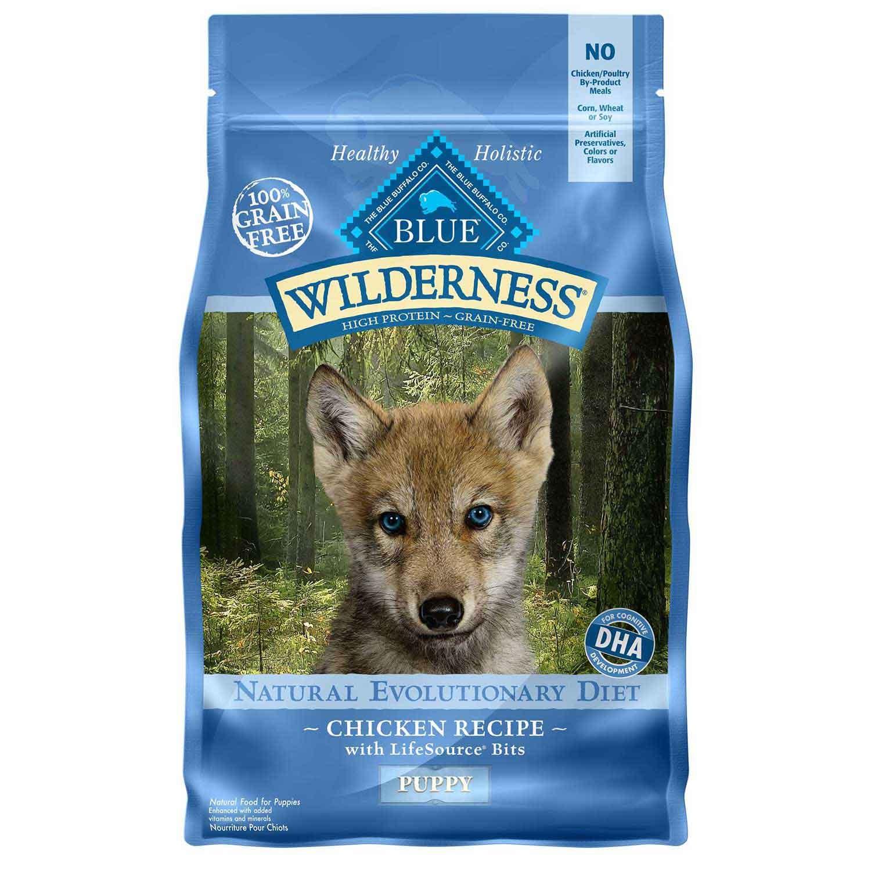 Blue Buffalo Wilderness Chicken Dry Puppy Food