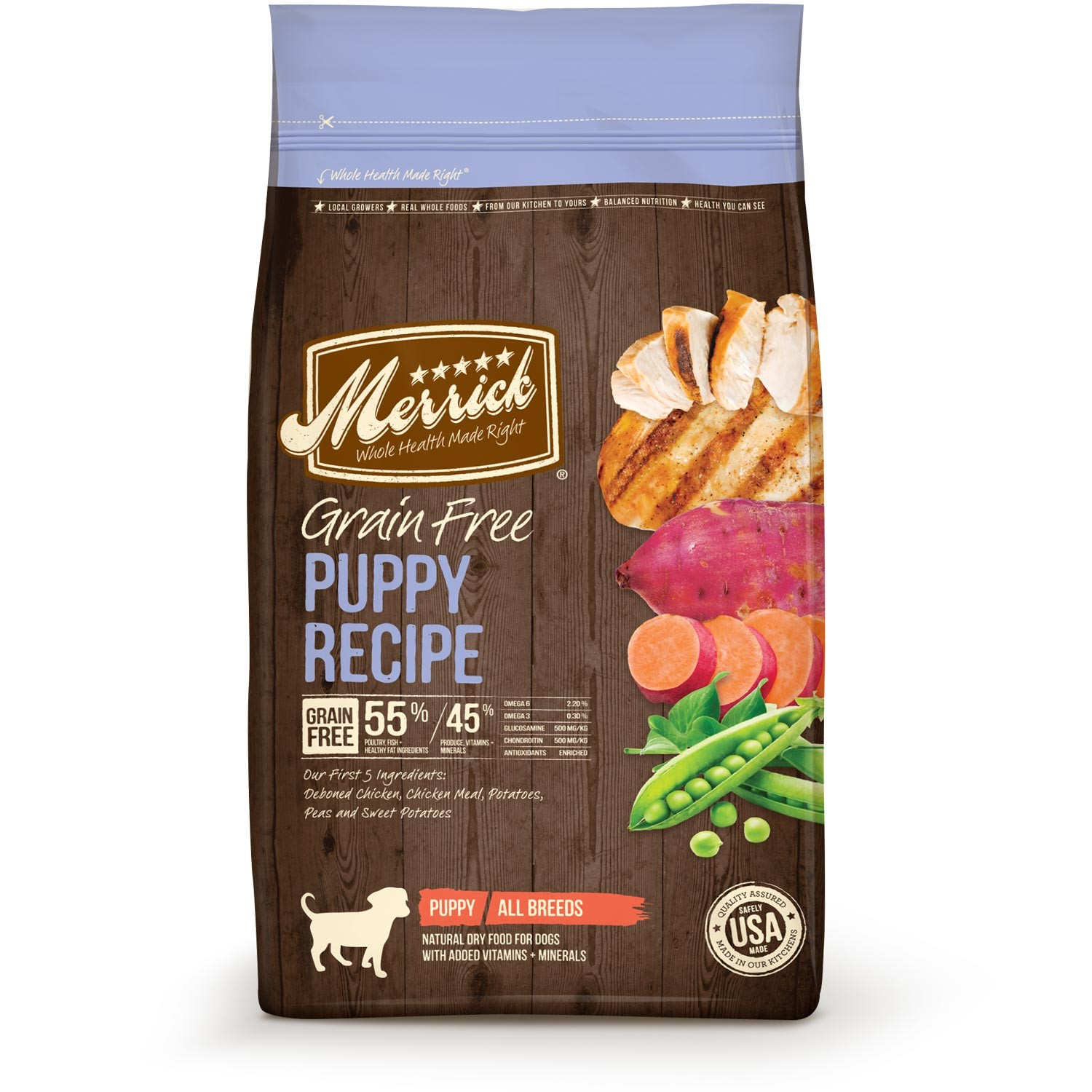 Merrick Real Grain Free Real Chicken Puppy Food