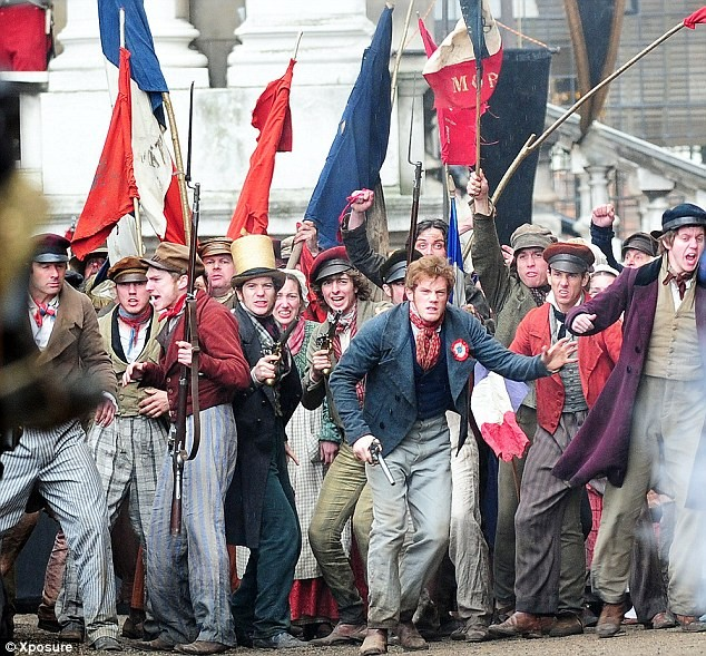 Try a Les Miserables theme