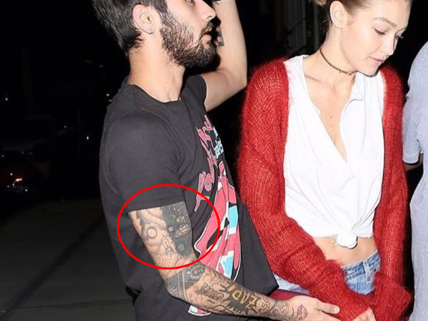 New Zayn Malik Tattoos Sported By The Singer The Number
